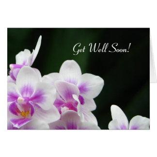 Obtenez la carte de voeux bientôt florale bonne