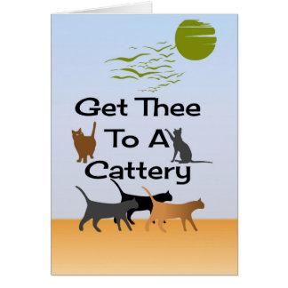 Obtenez Thee à une carte de voeux de pension pour
