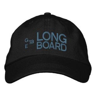 Obtenez un noir de casquette brodé par Longboard