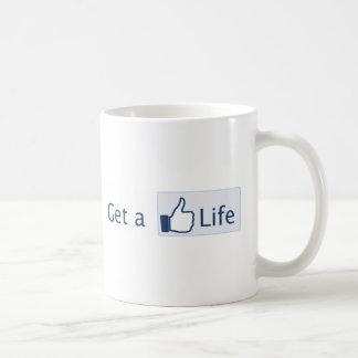 Obtenez une vie mug