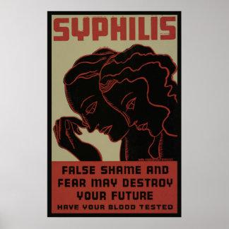 Obtenez votre poster vintage 1938 de WPA d'analyse