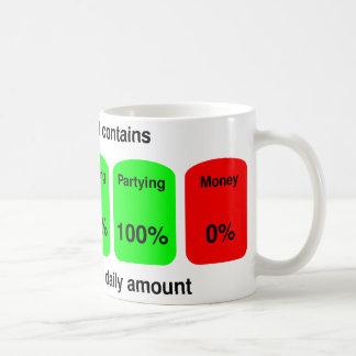 Obtenez votre quantité quotidienne de qualité mug