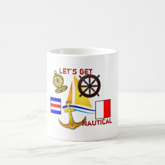 Obtenons nautiques - tasse de café