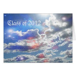 Obtention du diplôme 2012 carte de vœux
