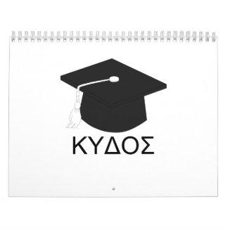 Obtention du diplôme kudos-B.A. Calendriers