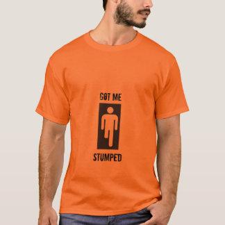 Obtenu me, Stumped T-shirt