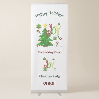 Occasions joyeuses Whimsey Banderole Rétractable