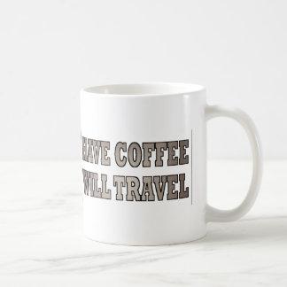 Occidental ayez le café voyagera mug blanc