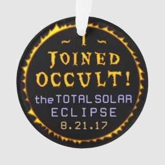 Occulte drôle solaire total d'éclipse le 21 août