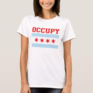 Occupez le T-shirt de drapeau de Chicago
