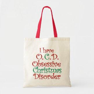 OCD - Sac fourre-tout obsédant à désordre de Noël