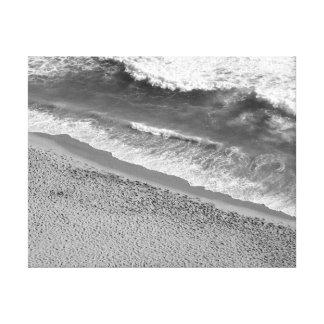 Océan noir et blanc toiles