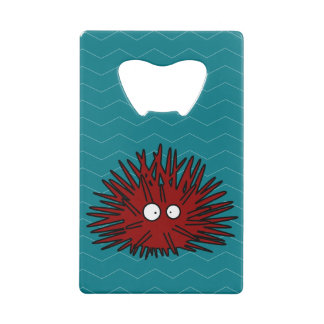 Océan rouge Uni épineux de hérisson d'oursin