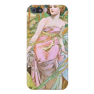 Ochtend, Mucha iPhone 5 Covers