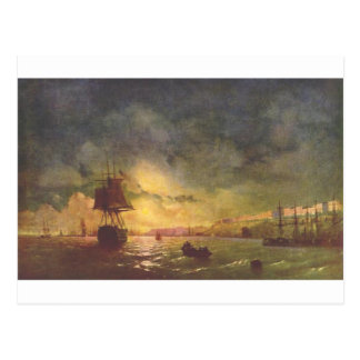 Odessa la nuit par Ivan Aivazovsky Carte Postale