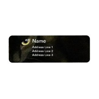 Oeil de Leelu - étiquette de retour Étiquette D'adresse Retour