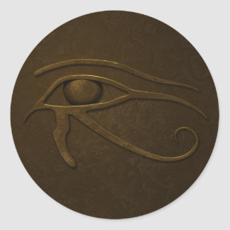 Oeil de Ra Sticker Rond