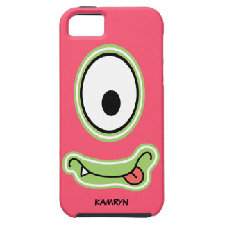 Oeil écarquillé rose Girly Funnyface Coques iPhone 5 Case-Mate
