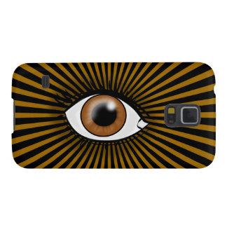 Oeil solaire de Brown Protection Galaxy S5