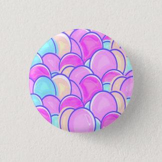 oeufs de pâques en pastel badge rond 2,50 cm