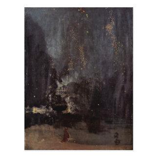 Oeuvre d'art de Whistler Carte Postale