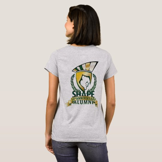 Official SHAPE ALUMNI 50 years T-shirt