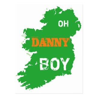 Oh carte d'Eire de cool de jour de St Paddys de