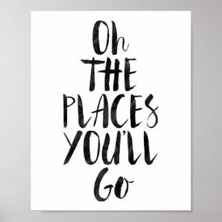 Oh les endroits vous irez