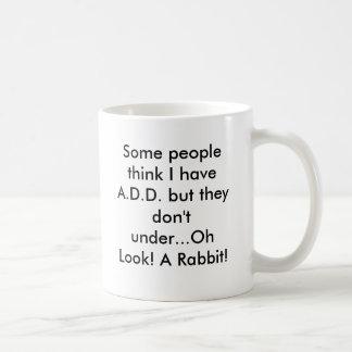 Oh regard ! Un lapin ! Mug