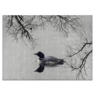 oie Canada d'oiseau de planche à découper