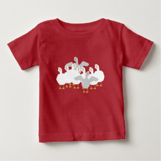 Oie qui T-shirt de bébé