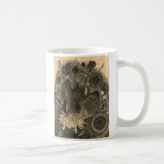 Oiseau antique mug