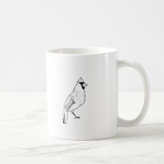 Oiseau cardinal mug