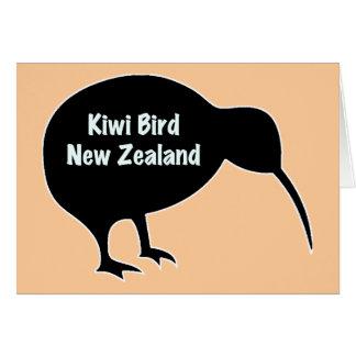 Oiseau de kiwi - Nouvelle Zélande Carte