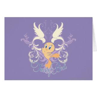 """Oiseau de Tweety """"Tweety """" Carte"""