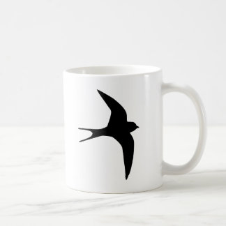 Oiseau d'hirondelle mug