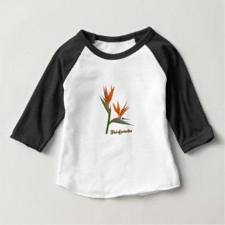 Oiseau du paradis t-shirt pour bébé