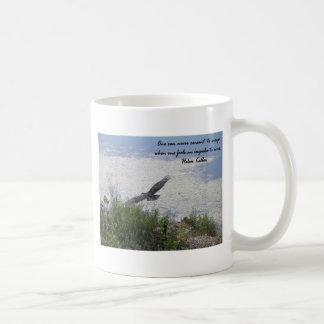 Oiseau majestueux mug