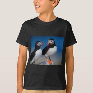 oiseau par paires de macareux t-shirt