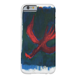 oiseau rouge coque iPhone 6 barely there