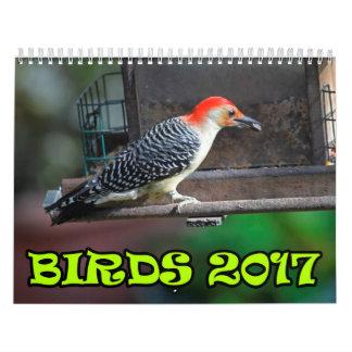 Oiseaux 2017 calendriers