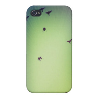 Oiseaux en vol iPhone 4 case