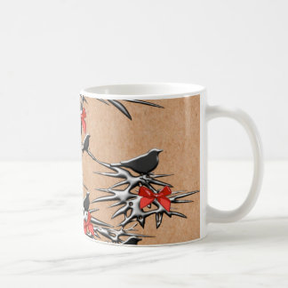 Oiseaux et arcs de Noël Mug