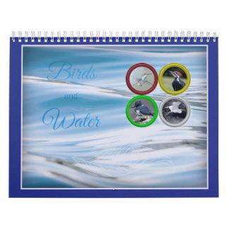Oiseaux et calendrier (moyen) de l'eau