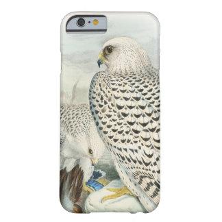 Oiseaux foncés adultes de faucon du Groenland de Coque Barely There iPhone 6