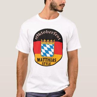 Oktoberfest - style de Matthias T-shirt