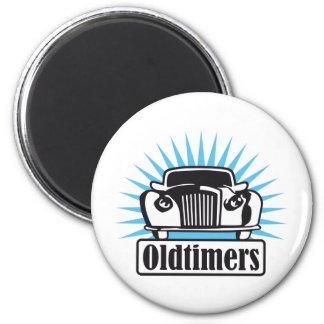 oldtimers magnet rond 8 cm