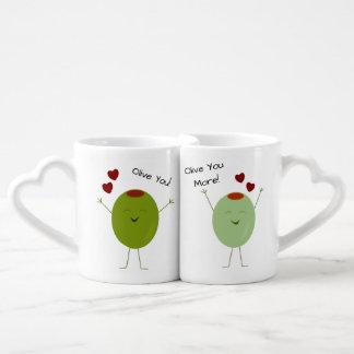 Olive de l'amour personnalisé mug
