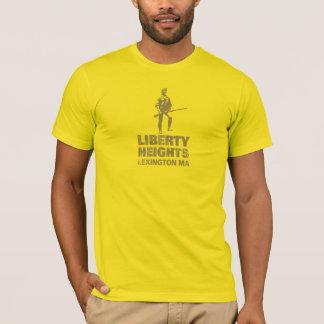 Olive de tailles de liberté empilée (la pièce en t t-shirt