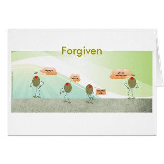 Olives indulgentes carte de voeux